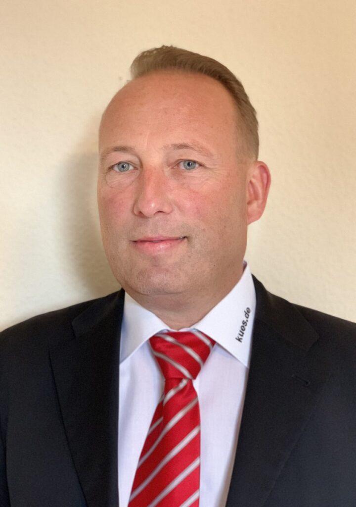 KÜS-Vorstand Jan Unger