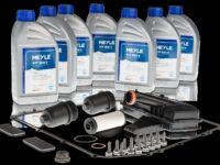 Weitere Ölwechselkits für AT-Getriebe und warum kein Spülen notwendig sei