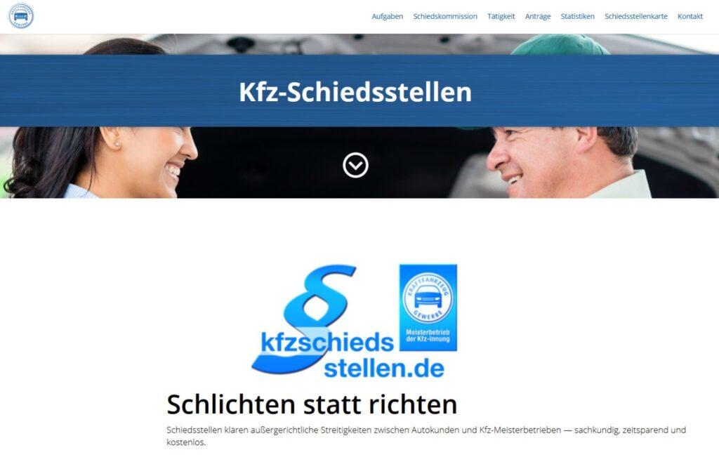 Schiedsstellen Kfz-Branche