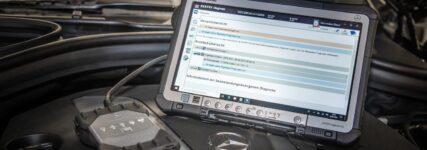 Mercedes-Originaltester für freie Werkstätten