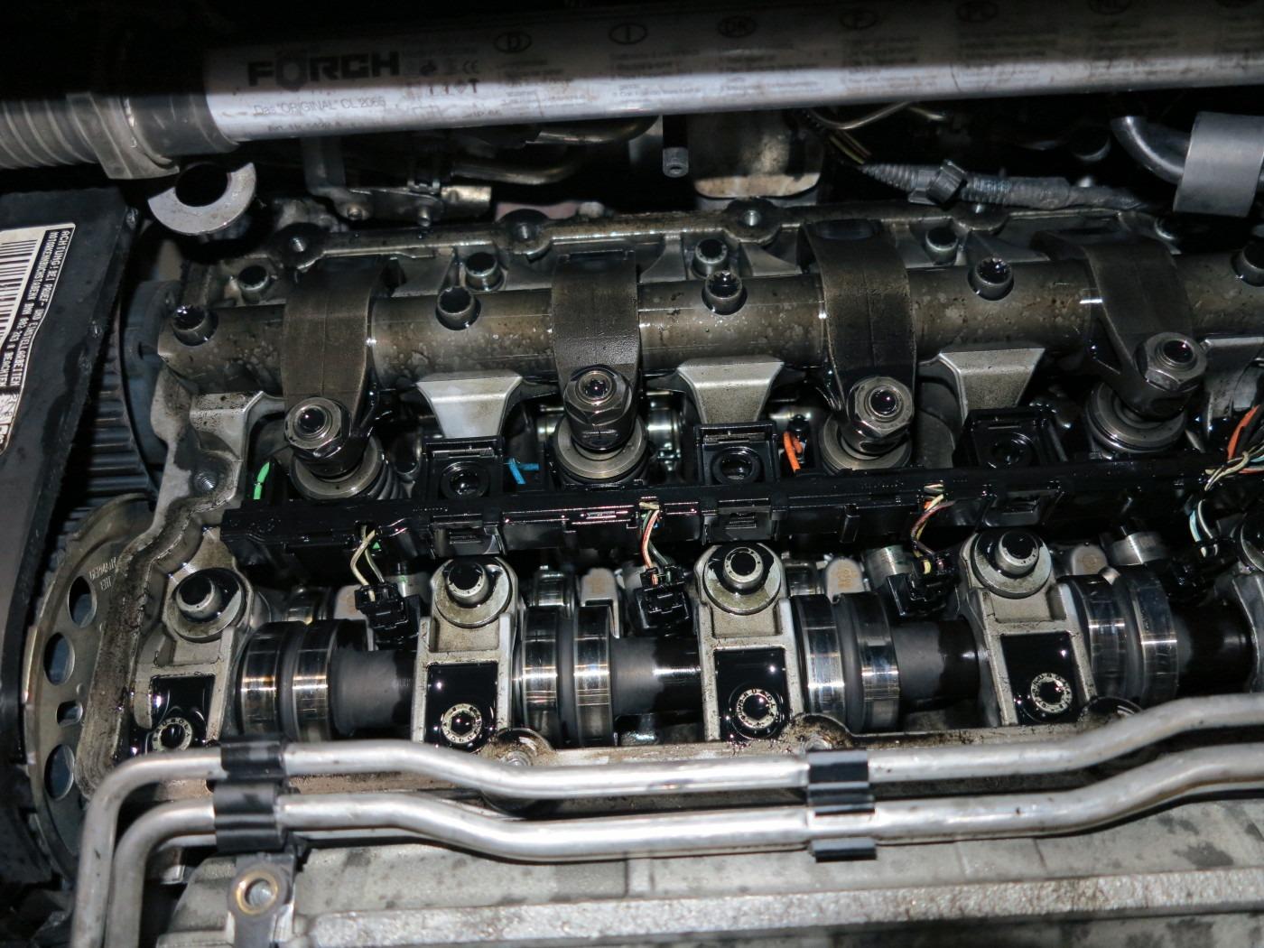 Nockenwellen eines VW Crafters