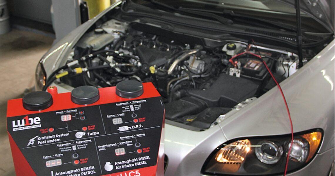Motorreinigungsgerät Clean-Contorl LC5 von Lube1
