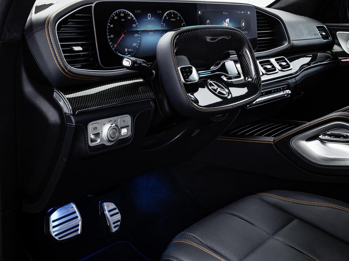 Interierur des ESF 2019 von Mercedes-Benz