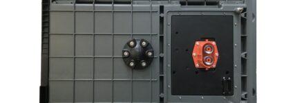 Batteriegehäuse mit reduziertem Gewicht