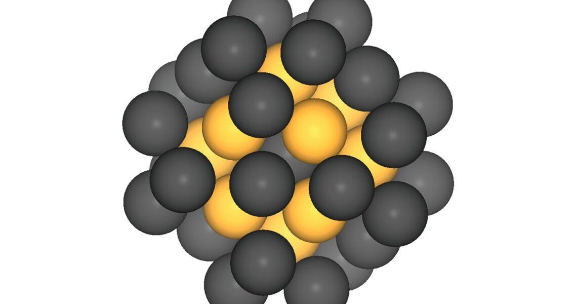 Ein Nanometer großes Platin-Ei für Platinkatalysatoren