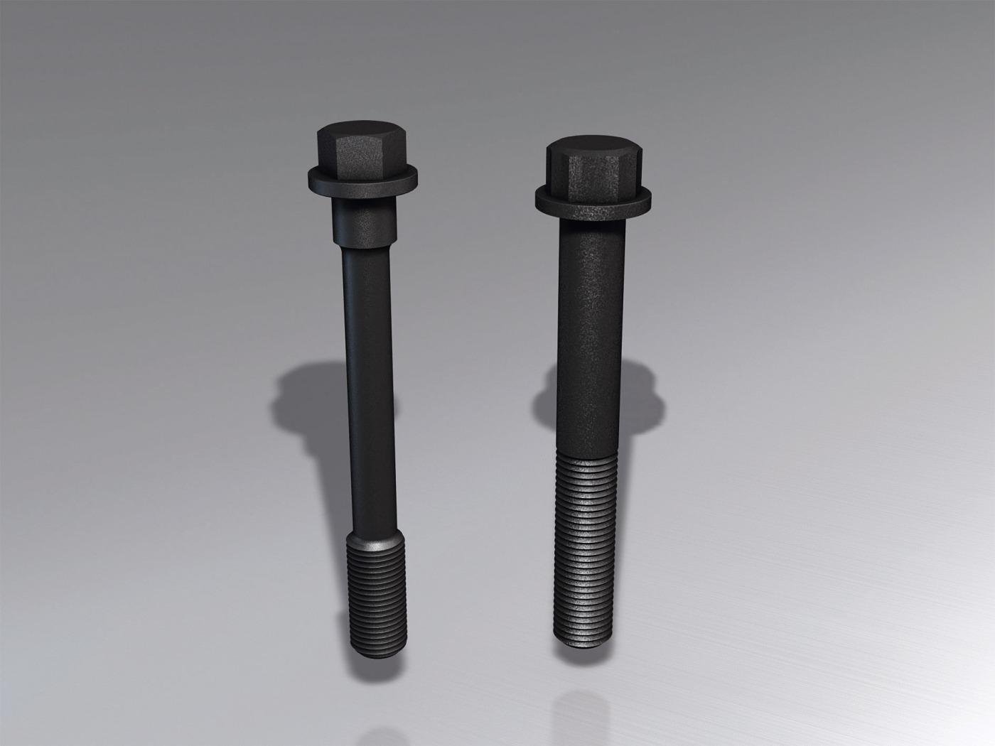 Vergleich Dehnschraube/normale Schraube