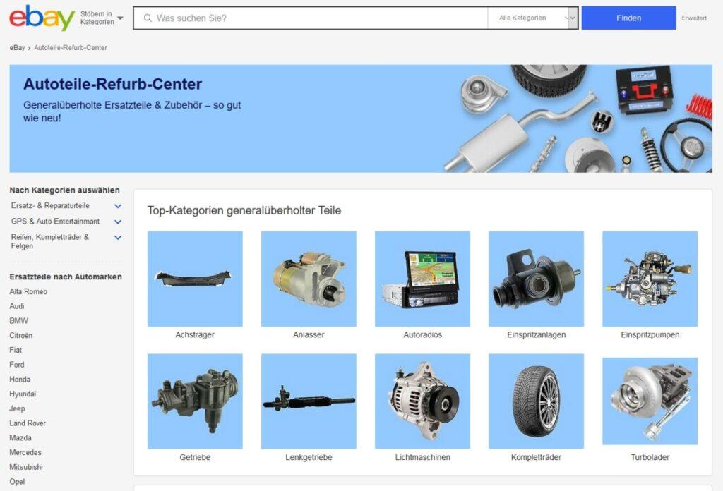 Autoteile-Refurb-Center ebay