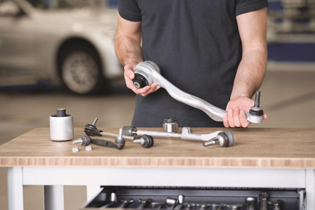 Gummimetallteile für Elektro- und Hybridfahrzeuge