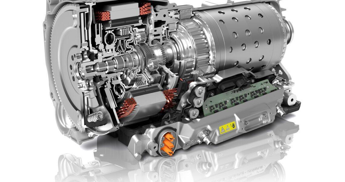 Achtgang-Automatikgetriebe von ZF
