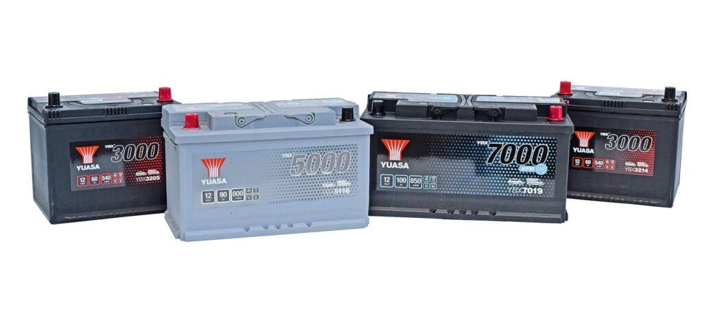 YBX-Starterbatterie-Baureihe von GS Yuasa