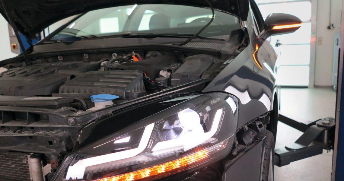 LED-Frontscheinwerfer nachrüsten am Golf 7