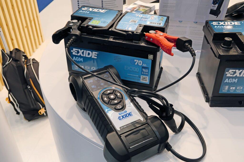Batterietester von Exide