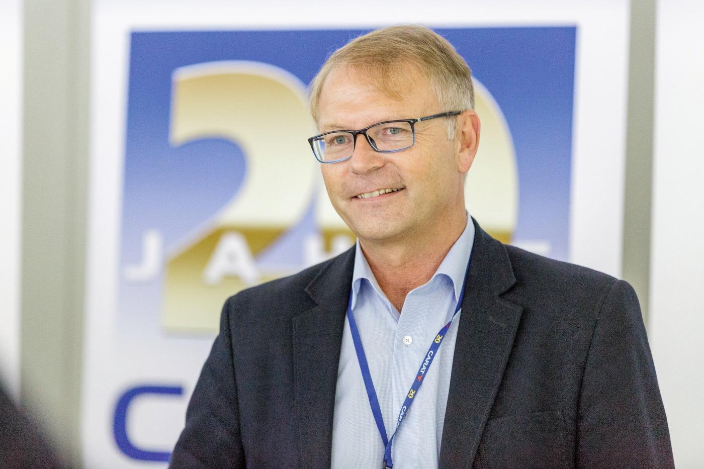 Thomas Vollmar, Geschäftsführer der Carat Unternehmensgruppe