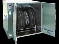 Reifenwärmeschrank für eine schonende Reifenmontage