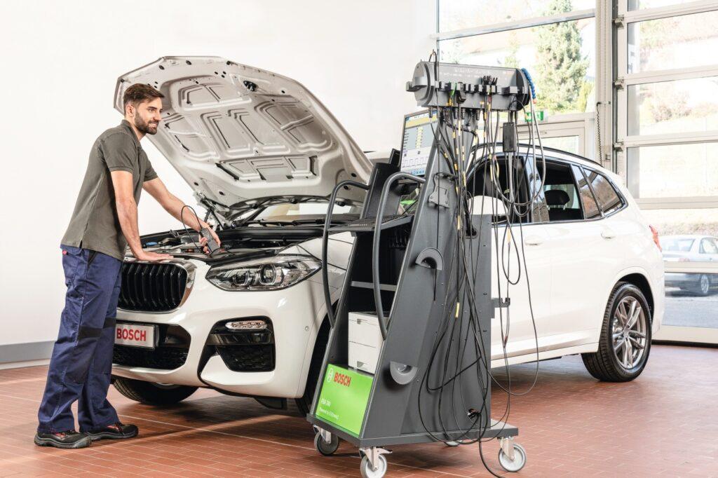 Fahrzeuganalysesystem FSA 740 von Bosch