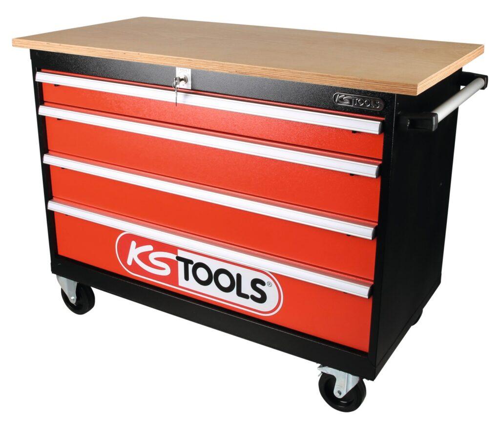 Fahrbahre Werkbank von KS Tools
