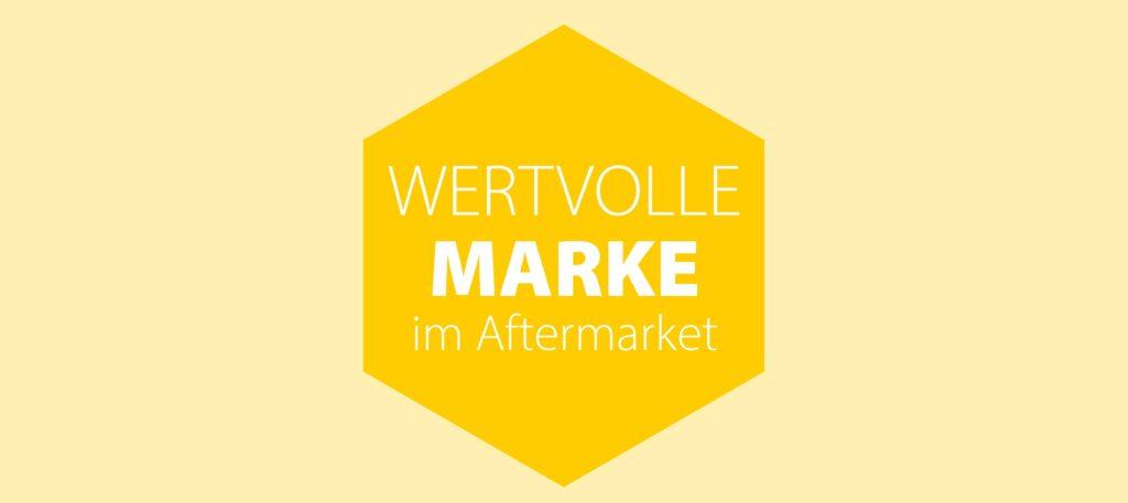 Wertvolle Marke für den Aftermarket Logo