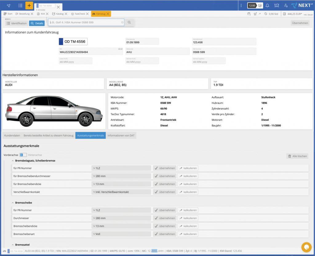 Topmotive sellbstlernende Fahrzeugakte