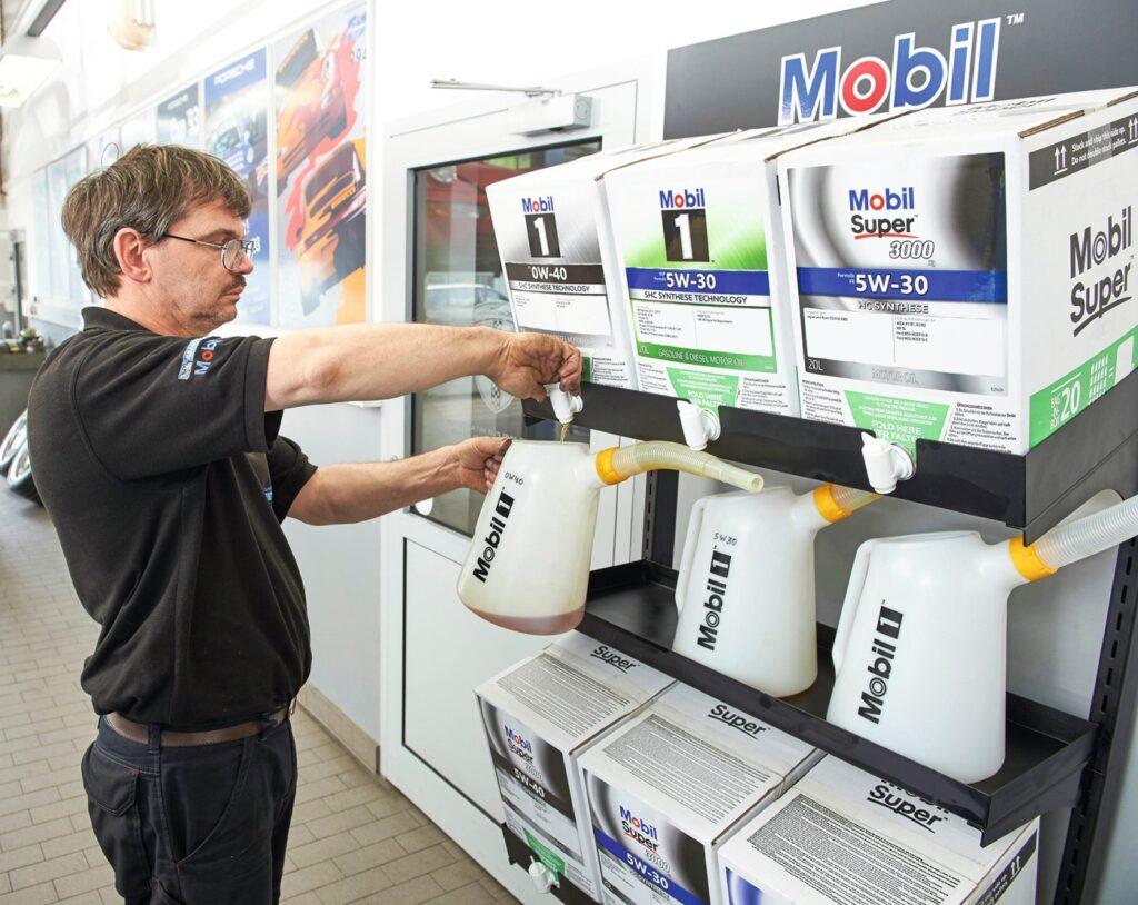 MobilBoxx von Exxon Mobil