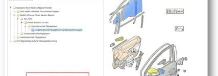 OEM-Reparaturanleitungen von sechs Marken aus einer Hand