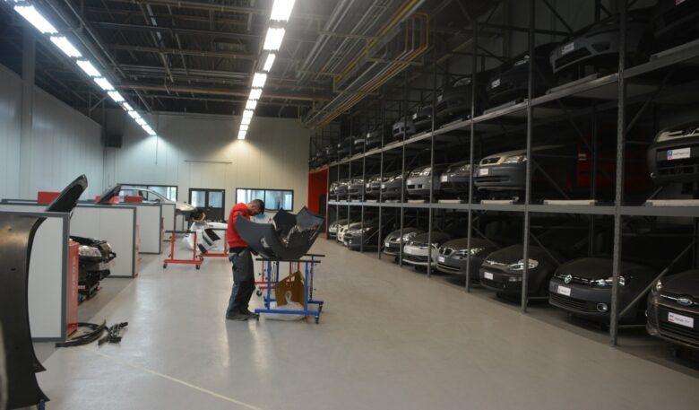 Blick ins Van Wezel Technical Center