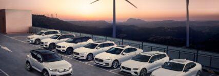 Ende 2020 fährt jeder Volvo elektrisch