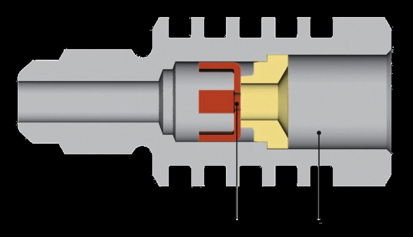 Spitzenmomentbegrenzer im Hydrauliksystem einer Kupplung