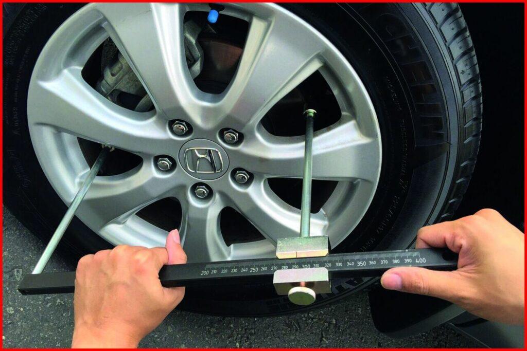 Messgerät für Bremsscheiben