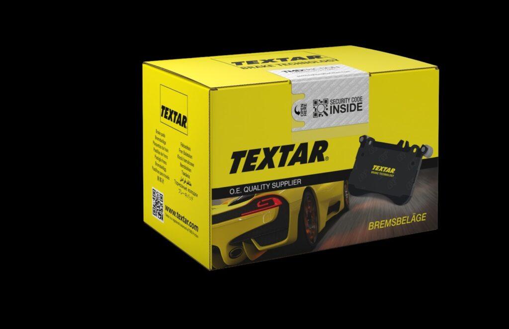 Verpackungen der Marke Textar