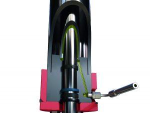 Hubzylinder der Unterflor-Hebebühne von Autopstenhoj