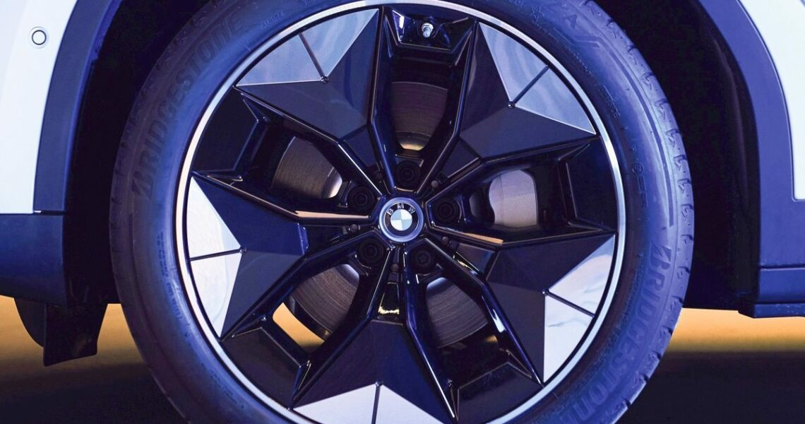 Raddesign des BMW iX3