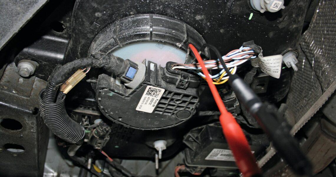 AdBlue-Fördermodul mit integriertem Drucksensor an einem Pkw
