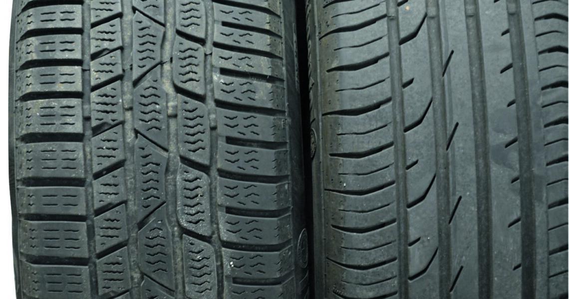 Reifen mit unterschiedlichem Profil