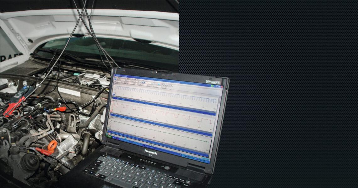 Istwertprüfung von Sensoren und Aktoren mit dem Oszilloskop