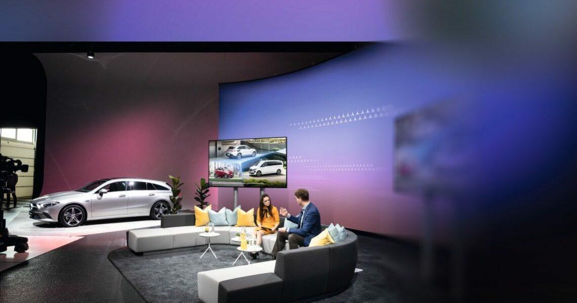 Mercedes-Benz online Messestand