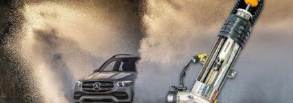 Die E-Active Body Control des Mercedes GLE