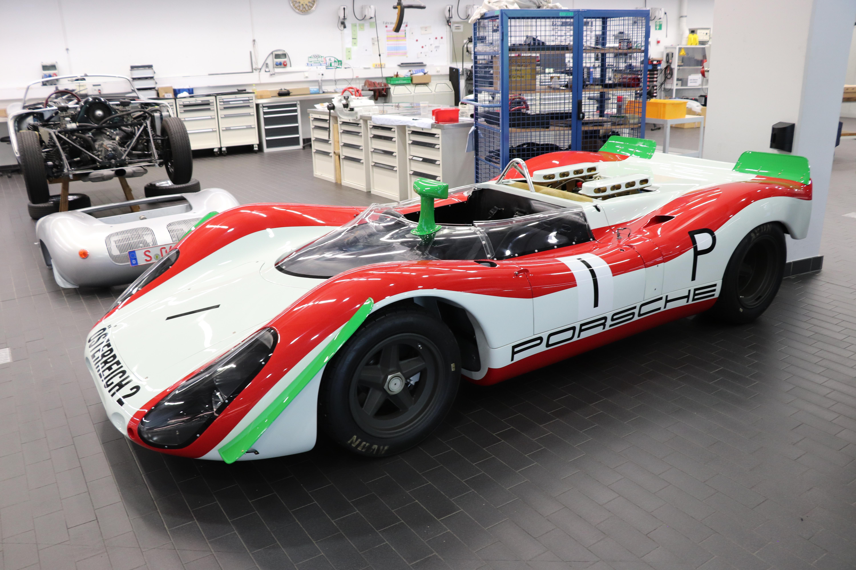 Mit diesem Fahrzeug gewannen Jo Siffert und Brian Redman das internationale 1.000-Kilometer-Rennen am Nürburgring.