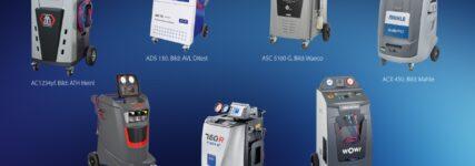 Klimaservicestationen diverser Anbieter vorgestellt