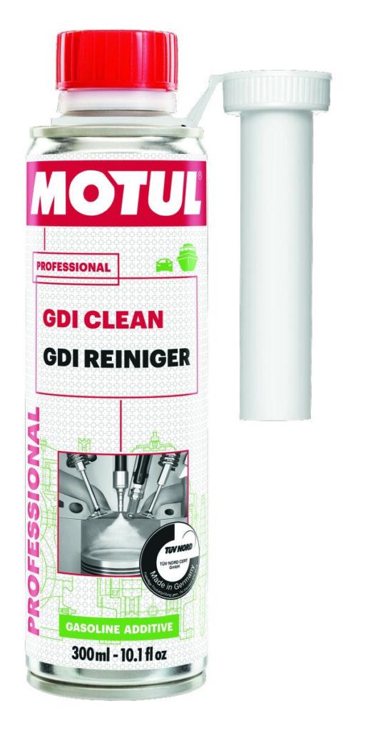 Das Reinigungsadditiv GDI Clean von Motul