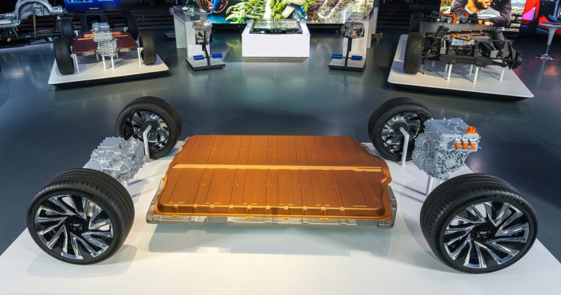 Ultium-Batteriezelle von General Motors