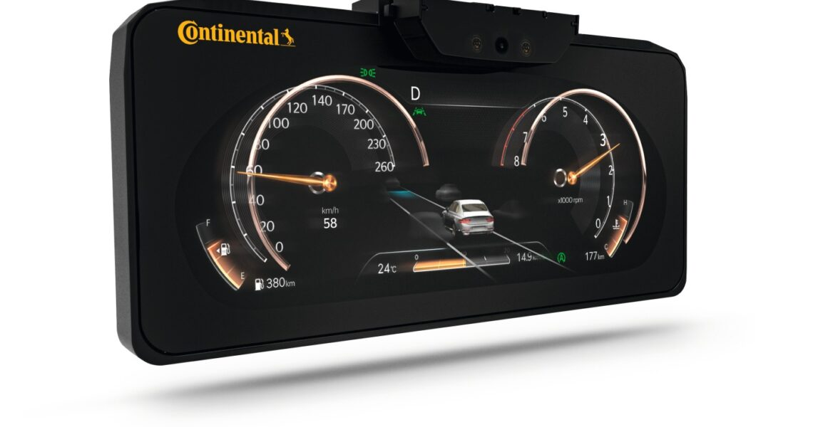 3D-Display für Autos von Continental