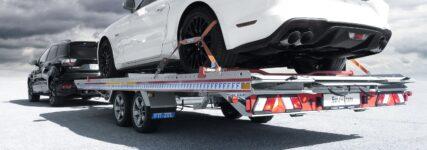 Der Fahrzeuganhänger Euro-Trans von Algema Fitzel