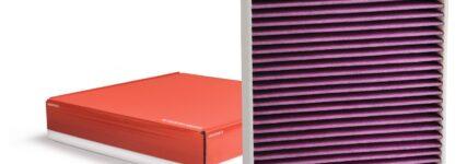 Biofunktionale Innenraumfilter für saubere Luft im Fahrzeug