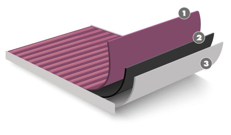Aufbau des Cabin3Tech+-Innenraumfilter