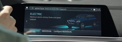 Automatisch emissionsfrei mit BMW eDrive Zone