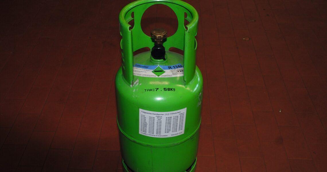 R134a Kältemittelflasche