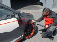 Das Reifenwechselgeschäft läuft nur schleppend
