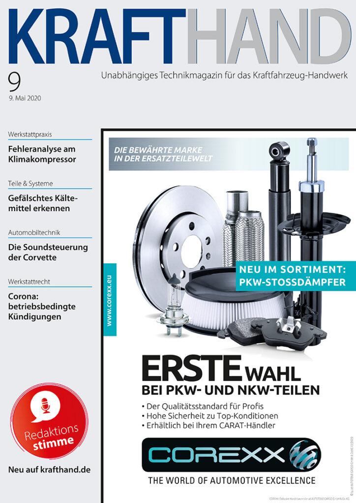 Cover der KRAFTHAND Ausgabe 9/2020