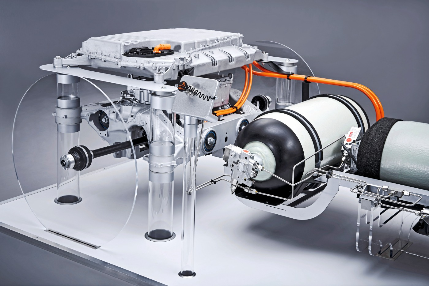 Wasserstofftank des BMW i Hydrogen NEXT