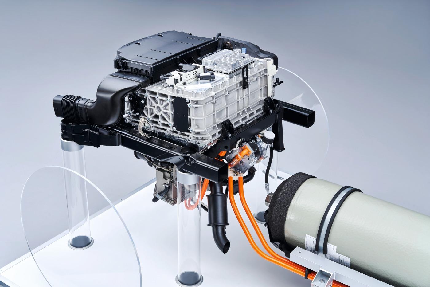 Brennstoffzelle des BMW i Hydrogen NEXT